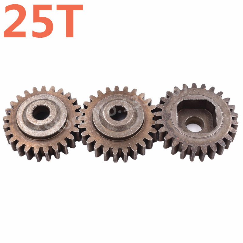 HSP Racing RC Spare Parts Diff.Gear(25T) 3PCS 50116 For 1/5 4WD Cars Baja Gas Nitro Power Off Road Monster Truck Buggy