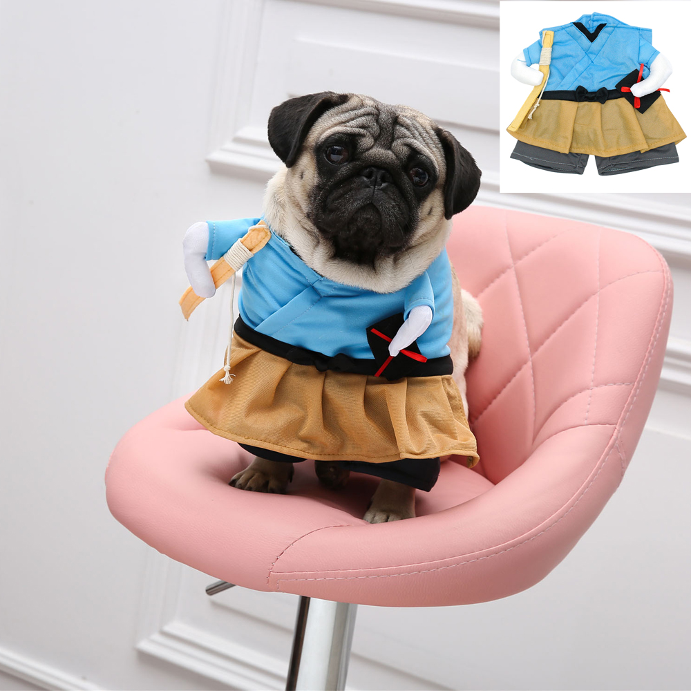 Funny Fashion Pet Dog Cat Clothes Cosplay Costume Puppy Kitten Cloth Suit Dressing Up Party Clothing