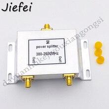 1 adet 2 Yollu Mikro Şerit Güç Bölücü 380 2500 MHz Wifi Anten Splitter SMA Konnektörü