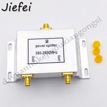 1 pcs 2 Vie Micro Strip Divisore di Potere 380 2500 MHz Wifi Antenna Splitter SMA Connettore