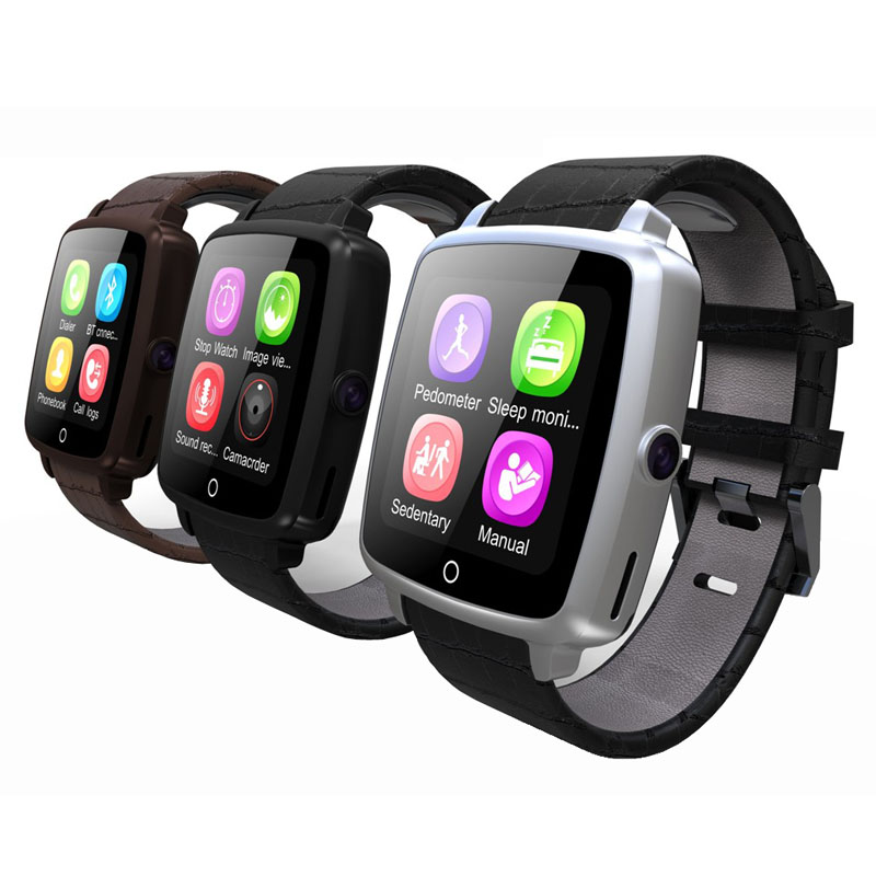 Fashion Original Uwatch U11C MTK2502 GSM Smart Bluetooth Watch Pedometer Sleep Monitor Camera For iPhone Samsung Huawei Xiaomi.