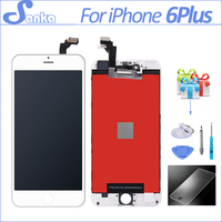 10PCS For IPhone 6 PLUS Screen LCD Display Digitizer Touchscreen Replacement Mobile Phone Parts Assembly Pantalla
