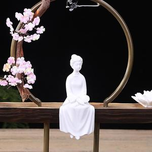 Image 3 - Cultural Elegant Creative Backflow Incense Burner Traditional Buddha Lotus Classic Smoke Waterfall Incense Holder Home Decor