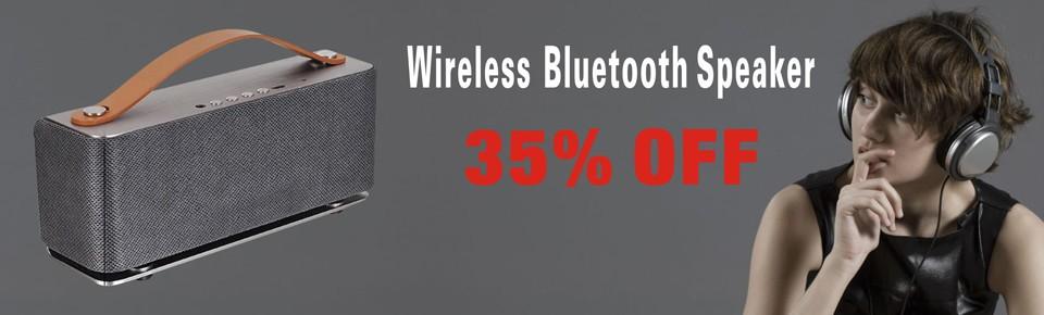 Bluetooth Speaker banner