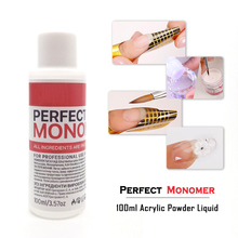 Contigo Perfect Monomer 100ml Acrylic Powder Liquid For Nail Design Manicure Builder DIY High Quality Crystal Acrylic Tools