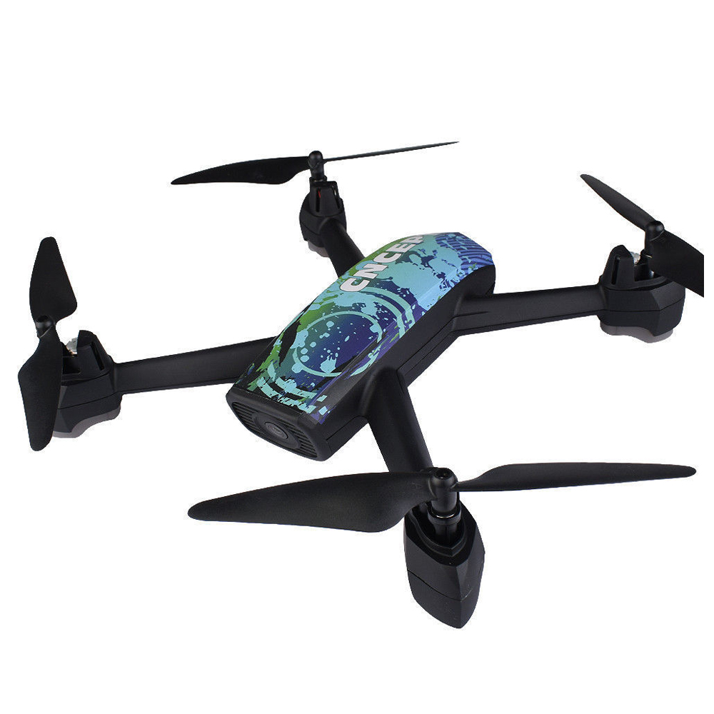 JIN XING DA 518 RC Quadcopter 2.4GHz HD 2MP Camera WIFI FPV GPS Mining Point Drone