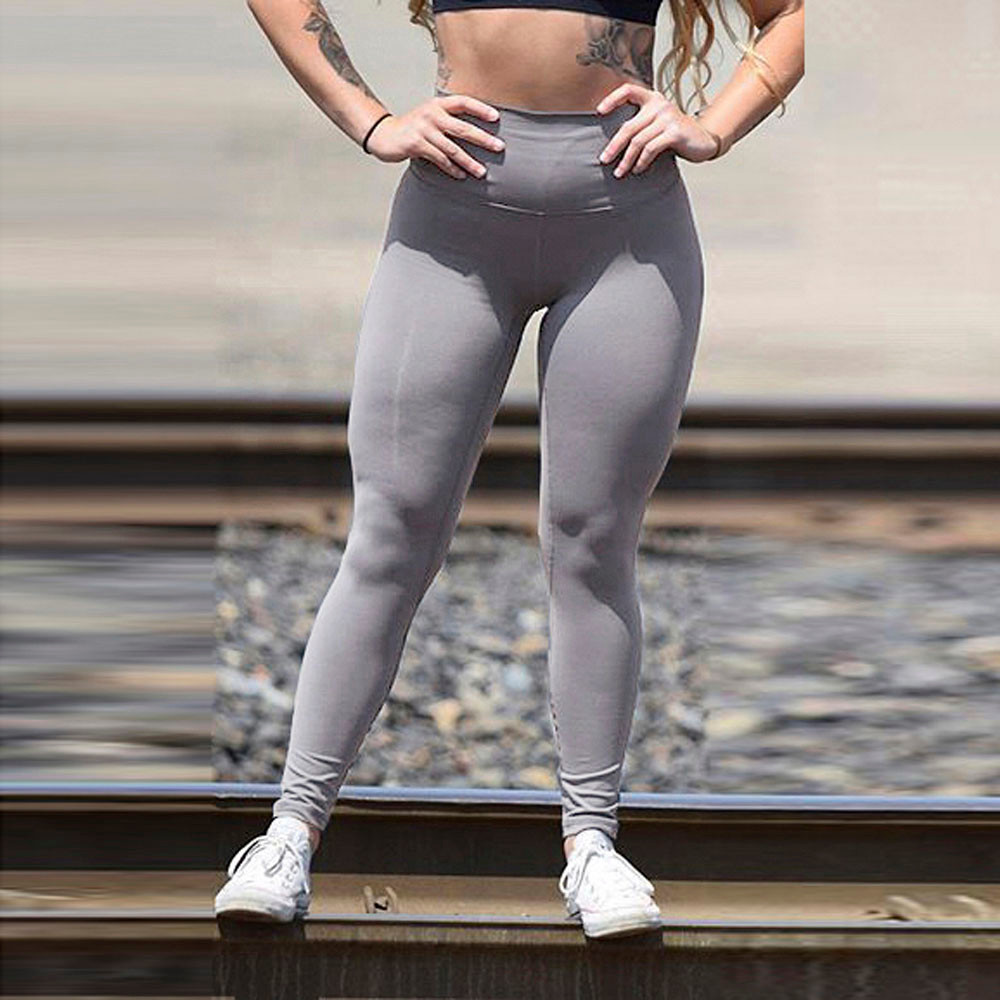 Womail Brand High Quality Yoga leggings Women High Waist Sports Gym Yoga Running Fitness Leggings Pants Athletic Trouser