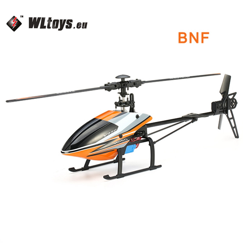 Vente chaude WLtoys V950 2.4G 6CH 3D6G Système Brushless Flybarless RC Hélicoptère BNF