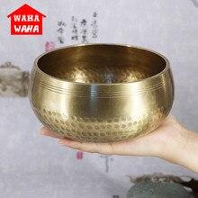Тибетская чаша Поющая чаша настенные блюда тибетская Йога Поющая медитация чаша декоративная-настенные блюда буддизм подарок домашний Декор Ремесло