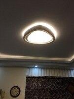 LED форме сердца Гостиная Спальня исследование проход потолок Освещение Коммерческое освещение потолочный светильник 110 240 В