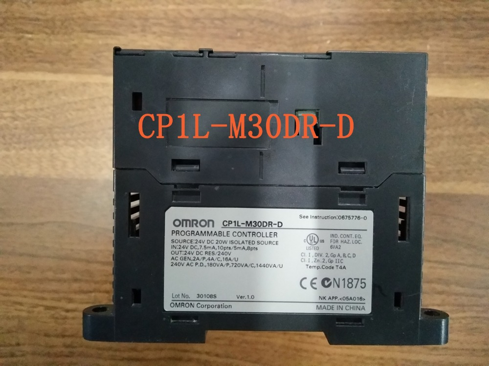 controller PLC CP1L-M30DR-D (CP1LM30DRD) 24V dc 18 inputs and 12 relay outputs Programmable new english laptop keyboard for lenovo thinkpad edge e530 e530c e535 us keyboard 04y0301 0c01700 v132020as3