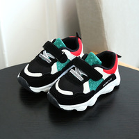 2018 Cute Cool All Season Sports Shoes Baby Toddlers High Quality Shinning Baby First Walkers Cool
