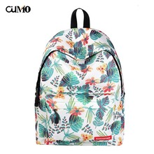 Ou Mo brand feminina backpack Mini Bag Women man laptop anti theft multicolor middle School student Schoolbag