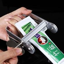 1Pcs Manual Aluminum Alloy Paste Squeezer Pigment Toothpaste Extruder Cream Bathroom Pro Salon Tube Dispenser Tube Rolling Tool