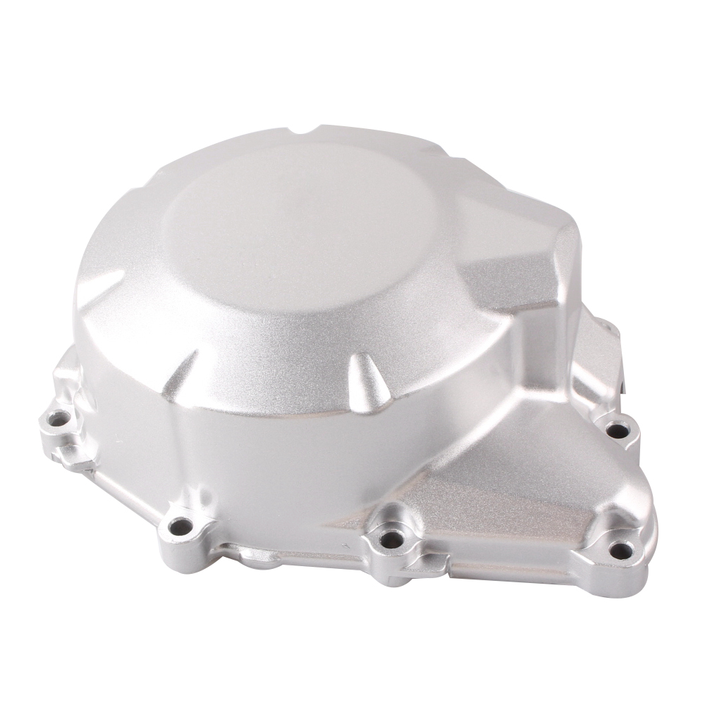 Motorcycle Stator Engine Crank Case Generator Cover Crankcase For Yamaha FZ6 FZ 6 2004 2005 2006 2007 2008 2009 2010 Silver engine stator crank case generator cover for kawasaki z750 2007 2008 2009 aluminum motorcycle accessories