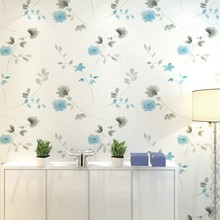 PAYSOTA Modern Flower Romantic Non-woven Wallpaper Bedroom Guest Dining Room TV Background Wall Paper Roll