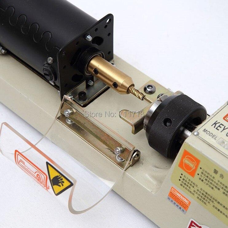 WENXING 423A Tubular Key Cutter Cutting Machine Key Duplicating Machine Only Working On 220v~240v