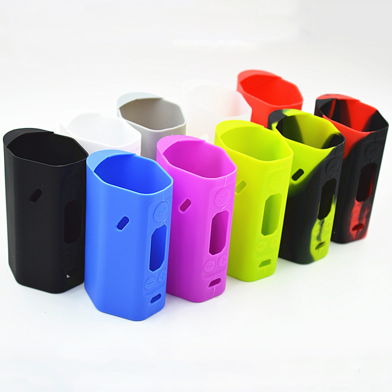 RX200 Silicone Sleeve Case 10 Colors Available Soft Rubber Sleeve Protective Covers Skin For Wismec Reuleaux RX200 TC RX 200 Mod image