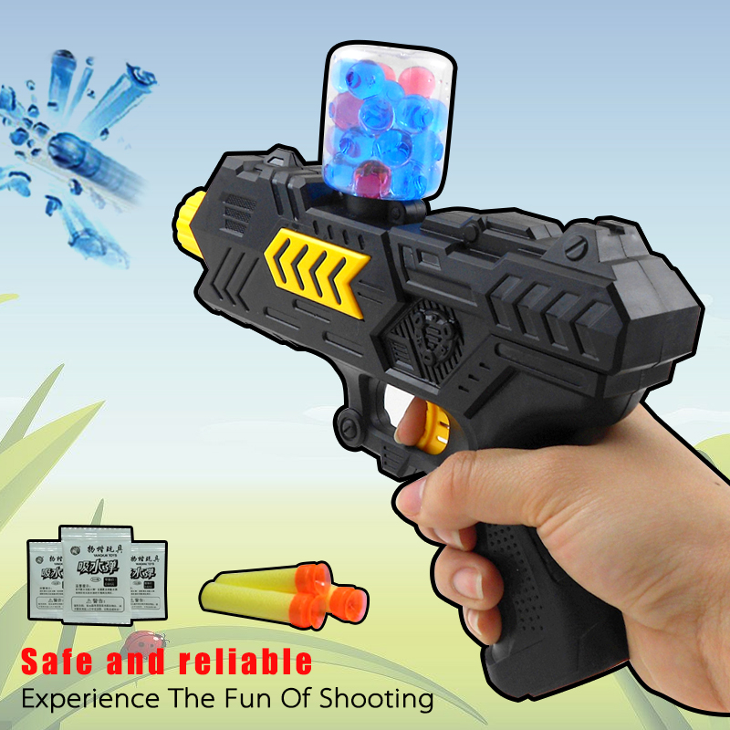 Soft Bombs 2 in 1 Gun Toy Sports Children Gift Children airsoft air guns Play Water