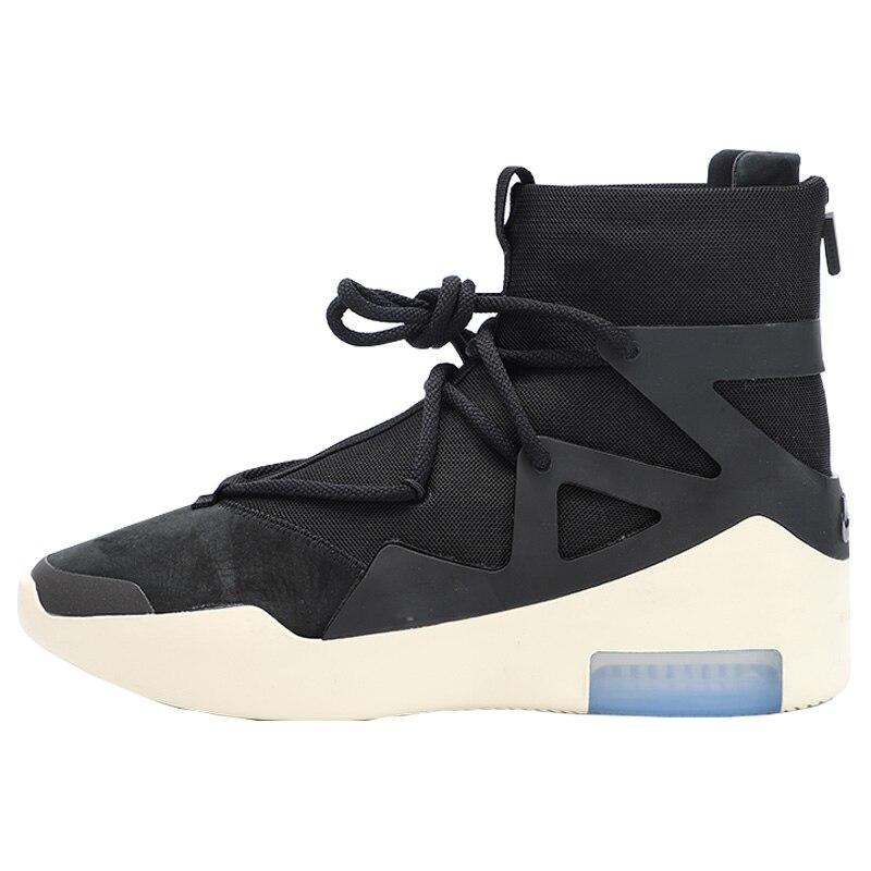 2019 printemps automne nouveau haut haut sport basket-ball chaussures hommes de haute qualité en cuir à lacets en plein air athlétique baskets grande taille 46