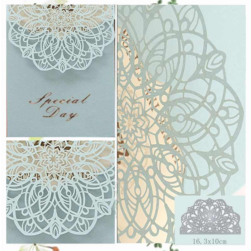 lace Dies New Cutting Die Scrapbooking Craft Metal Die Cut for DIY Paper Cards Making Valentine's Day Wedding Decorative