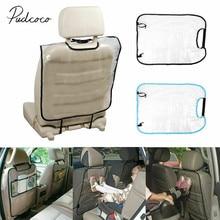 Авто заднее сиденье протектор сумка для хранения чехол для детей кик мат прозрачный