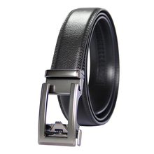 New Designer Popular Luxury Brand Cowhide Leather Belt Men Black Automatic Buckle Business Casual Belts For Men 3.5 Width hot sale business male black belts famous brand popular leather belt newest automatic buckle designer men black belt 2019