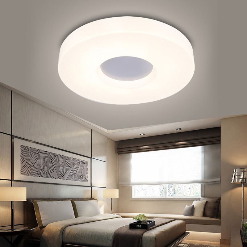 ecolight free shipping modern led flush mount surface mounted led ceiling light for living room foryer