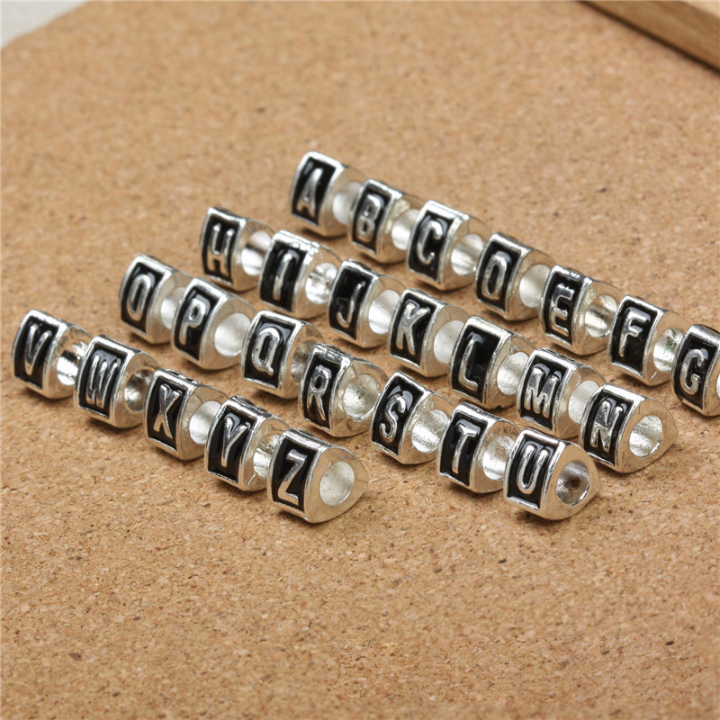 free shipping 26pcs lot mixed letter charms enamel greek With greek letter beads bulk