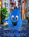 2015 New free shipping Hot Sale raindrop costume adult water drop mascot costume