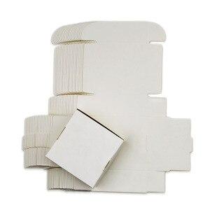 Image 3 - Đen Trắng Tự Nhiên Giấy Kraft Nâu Hộp Đồ Trang Sức Nhỏ Tặng Hộp Bao Bì Hộp Giấy Bìa Wed Tự Làm Xà Phòng Quy Cách Đóng Gói Hộp 20 kích Cỡ