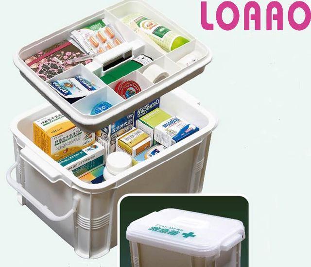 Superbe New Hot Medical Box Kit Medecine Storage Box Organizer Fashion Medical Bag  Case