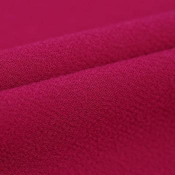 Tessuto Stampato Rosa | 140 CM Largo 470 G/M Peso Rose Red Di Colore Solido Doppio Fronte Di Lana Crepe Tessuto Per La Primavera E L'autunno Camicia Di Vestito Giacca Del Vestito DE479