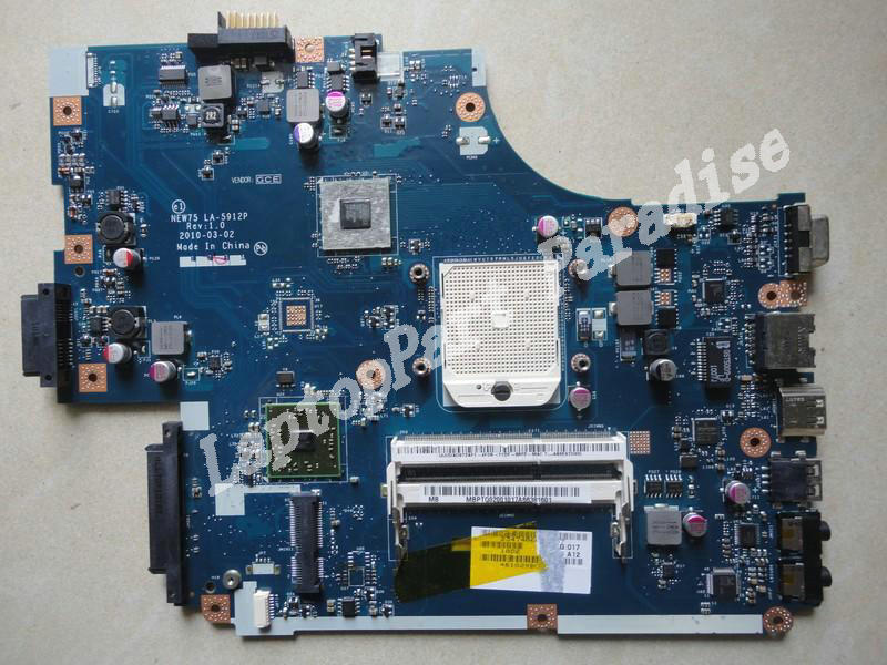 NEW75 LA-5912P For Acer Aspire 5551 5251 Motherboard MBPTQ02001 (MB.PTQ02.001), Working Perfectly куплю маз 5551 5549 в украине