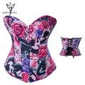Mulheres moda estilo cinto trainer cintura espartilhos para mulheres slimming body shaper lingerie sexy corselet fichário peito cinta modelagem
