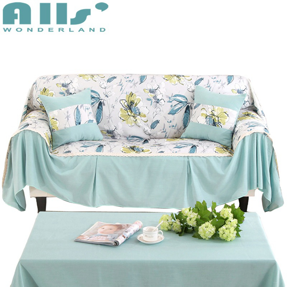 Light Blue Couch Covers For Sofas/loveseat Slipcover
