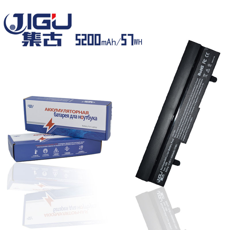 JIGU 5200mAH Battery For Asus Eee PC 1001 1001HA 1001P 1001PX 1005 1005PX 1005H 1005HA 1005HE AL32-1005 ML32-1005 PL32-1005 appella 484 1005