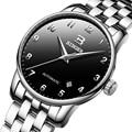Suíça binger relógios masculinos marca de luxo negócios relógios mecânicos data automática relógio masculino B-5005-8