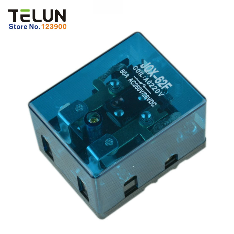Free shipping AC 220V 80A Silver contacts 1pcs uninterrupted power or solar power and commercial power automatic switching relay 1 piece free shipping silver or blue