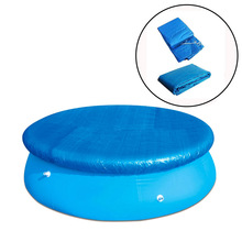 Round Swimming Pool Cover Folding Pool Cover for Ground Swimming Pools InflatableGarden Pools Swimming Pool & Accessories