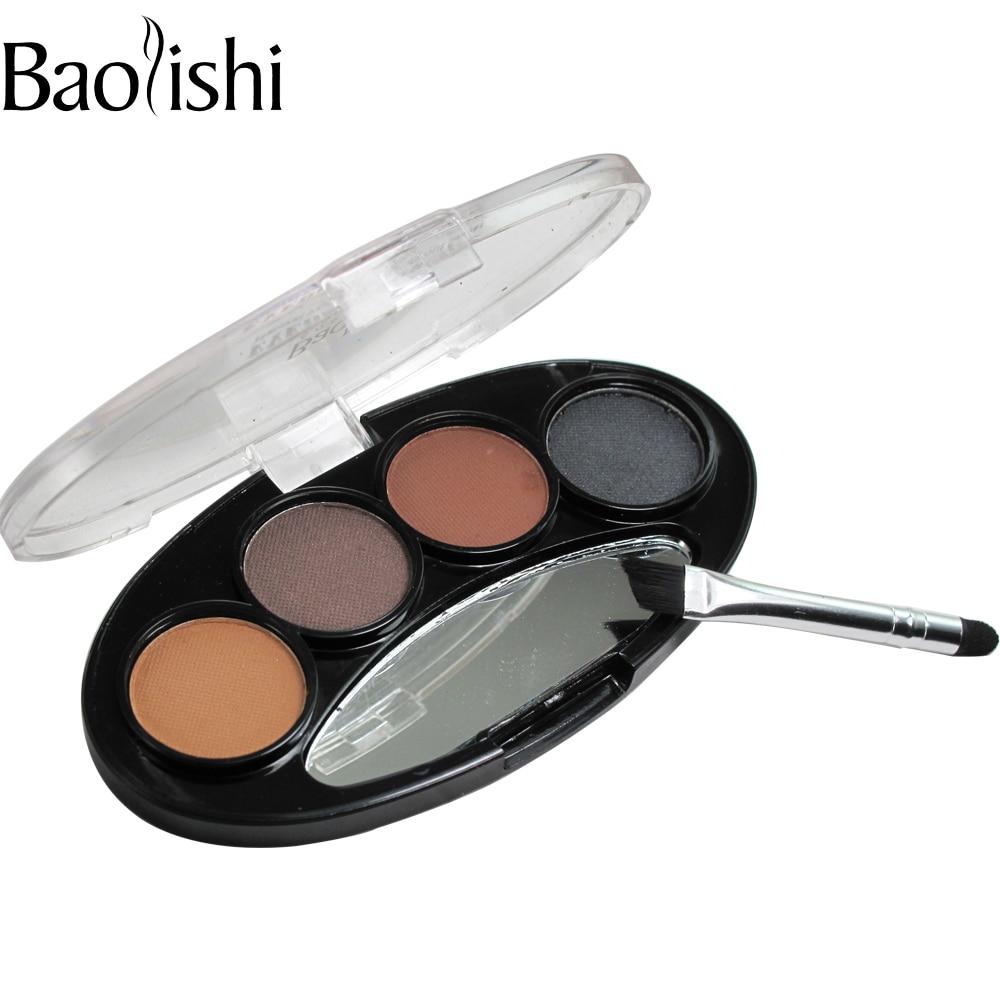 Baolishi Kit de potencia de cejas de sombra duradera a prueba de agua - Maquillaje