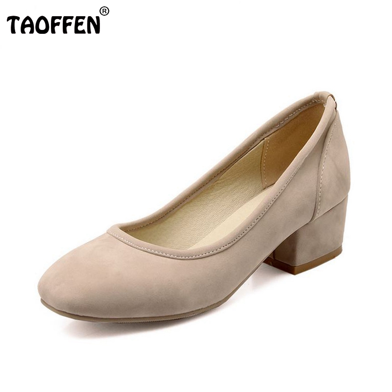 women high heel shoes classics woman sexy heels pumps ladies fashion flock round toe footwear shoes size 32-43 P22574 kemekiss size 33 42 women s high heel wedge shoes women cross strap platform pumps round toe casual mixed color ladies footwear