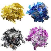 1 pack 3 centimetri Buon Compleanno Confetti Decorazione Acrilico Oro Lettera Coriandoli per la Cerimonia Nuziale Festa di Compleanno Decorazioni Da Tavola