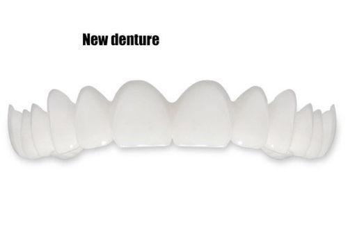 BellyLady Snap On Smile Teeth Perfect Smile Comfort Fit Flex Teeth Fits veneers smile Denture Whitening 4
