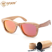 New 2017 classic polarized sunglasses handmade wooden frame driving sun glasses brand designer eyeglasses for unisex  W3012