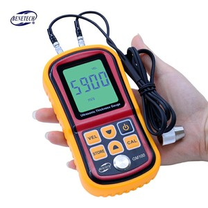 Image 2 - GM100 Digital LCD display Ultrasonic Thickness Gauge Metal Testering  Measuring Instruments 1.2 to 200MM Sound Velocity Meter