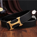 New Designer Luxury Brand Women Genuine Leather Belt with Floral H Buckle Men High Quality Cowhide Belts 37mm Wide