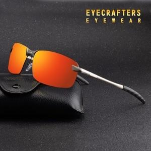 Orange Mens UV400 Polarized Su