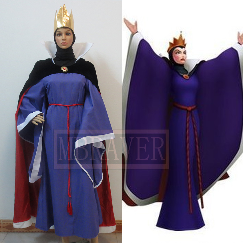 Snow White Evil Queen Cosplay Costume Custom Made