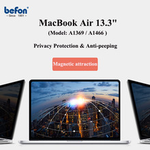 Protective-Film Anti-Peeping FILTER-SCREEN Laptop Privacy Macbook for Air A1369/A1466